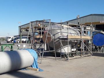 南达石化成功实现丙烷脱氢装置特殊管件工厂化生产