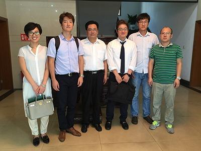 韩国Daelim 大力公司来我公司考察