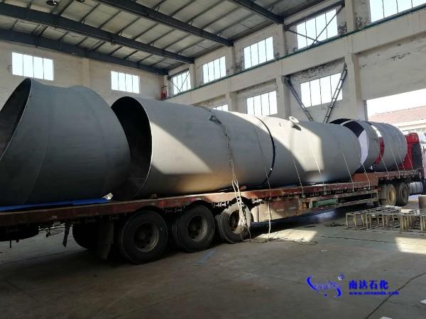 福建酸性气项目特殊列管式换热器